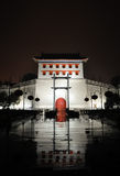 Xian city wall west gate at night Royalty Free Stock Photo
