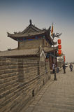 Xian City Walls Royalty Free Stock Photography