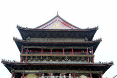 Xian Drum and Bell Tower Royalty Free Stock Photography