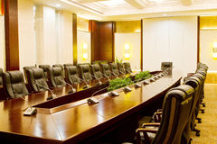Xian hotel conference room Royalty Free Stock Images