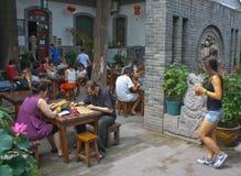 Xian-Jugend-Herberge Stockbild