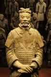 Xian krigare på museet av islamiska konster MIA In Doha, capien Fotografering för Bildbyråer