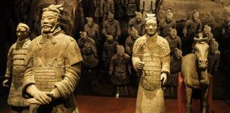 Xian krigare på museet av islamiska konster MIA In Doha, lockmitten av Doha, huvudstaden av Qatar i golfen Areai Royaltyfria Foton