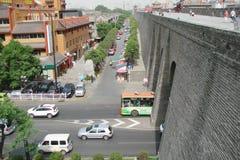 Xian miasto Chiny Krajobrazy miasto i swój okolicy obrazy stock