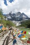 Xian Nairi-Schnee Berg Stockbilder