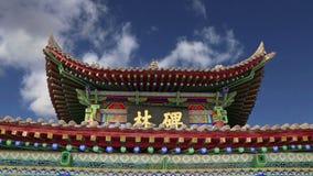 Xian Sian, XI ` лес стелы музея beilin, Китай видеоматериал