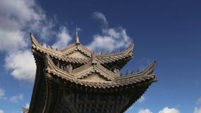 Xian Sian, Xi`an beilin museum Stele Forest, China stock video