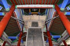 Xian (Sian, Xi'an) beilinmuseum (Steleskogen), Kina Arkivbild