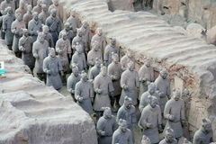 Xian soldiers Stock Photography