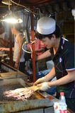 Xian street food stand Royalty Free Stock Photos