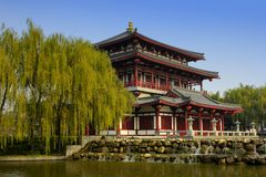 Xian Tang Paradise. Tourist destinations, Domestic royalty free stock photography