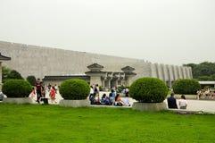 Xian Terracotta krigarebyggnad Royaltyfria Foton
