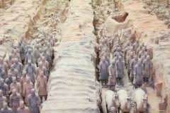 Xian terrakottaarmé Royaltyfria Foton