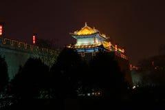 Xian tower guard Stock Photo