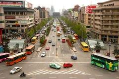 Xian traffic Stock Photos