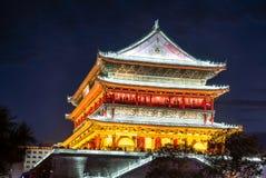 Xian trummar står hög Royaltyfri Fotografi
