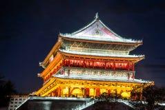 Xian trummar står hög Royaltyfria Bilder