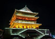 Xian trummar står hög Arkivbilder