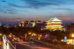 Xian trummar står hög Fotografering för Bildbyråer
