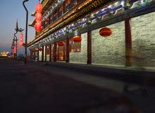 Xian Wall Royaltyfria Bilder
