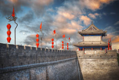 Xian Wall Fotografía de archivo libre de regalías