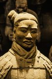 Xian wojownik przy muzeum Islamskie sztuki MIA W Doha capi Obrazy Royalty Free