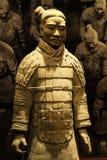 Xian wojownik przy muzeum Islamskie sztuki MIA W Doha capi Obrazy Stock