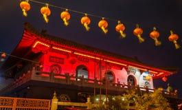 Xiang Lin Si Temple em Malacca, Malásia imagem de stock