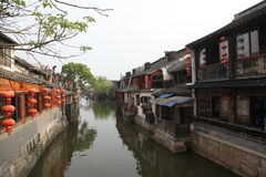 Xiang Water Town Foto de Stock Royalty Free