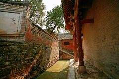Xiang Yan Temple Royalty-vrije Stock Foto's