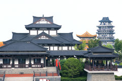 Xiang Yu Kings Hometown Royaltyfri Bild