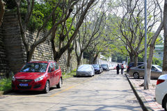 Xiangeli living community. Urban landscape in amoy city,china Stock Images