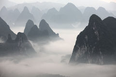 Xianggongshan mountain ,Guilin Royalty Free Stock Photography