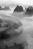 Xianggongshan mountain ,Guilin Royalty Free Stock Photos