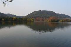 XiangHu湖 免版税库存照片