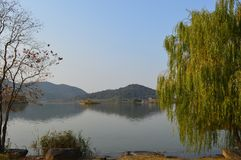 XiangHu See Stockbild