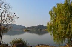 XiangHu sjö Fotografering för Bildbyråer