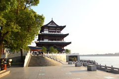 河xiangjiang 免版税库存照片