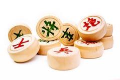 Xiangqi, scacchi cinesi Immagini Stock