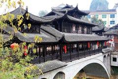 Xiangxi FuRong ancient town Stock Image