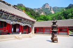xiangyan tempel Arkivfoto