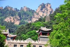 xiangyan tempel Royaltyfri Bild