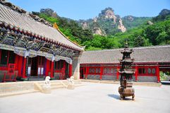 Xiangyan Temple Stock Photo