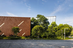 Xianlin campus scenery royalty free stock images