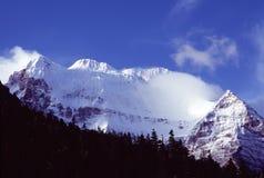 Xiannairi snow mountain Stock Image