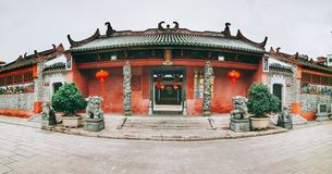 The Xiantai temple stock photography