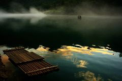 Xiaodong河风景  库存照片