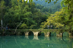 XIAOQIKONG Bridge Royalty Free Stock Photos