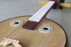 Xiaoruan, Geplukte Instrumenten Royalty-vrije Stock Foto