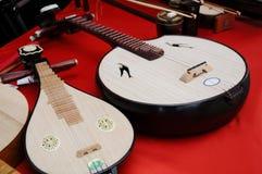 Xiaoruan, Plucked Instruments Stock Image